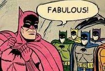 DC Comics / Batman, Robin, Superman, Aquaman, Wonder Woman, The Flash, Catwoman, Nightwing, Green Lantern, etc / by Sanjanaa Greenlund