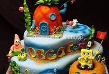 Boy cakes/cupcakes