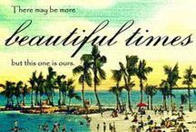 Vintage Beach Quotes / by Beach4Good