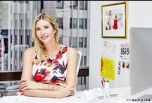 As Seen In... / Ivanka's press appearances and editorial highlights.