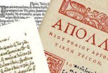 Greek fonts / Typography