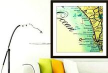 Map Decor / Map Decor / by Beach4Good