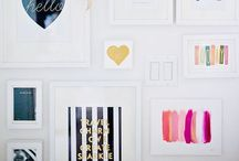 New Flat - inspiration! / My own front door to call home, an excuse for lots of lovely home decoration ideas.