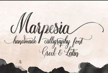 Greek Fonts New Creators / Greek Fonts Typography Calligraphy