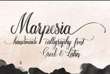 Greek Fonts New Creators / Greek Fonts Typography Calligraphy