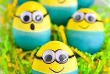Easter Decor & Crafts / Ideas for decorating your windows, doors and more for Easter!