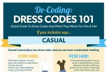 Dress Codes / Attire can be confusing. Here's some inspiration.