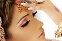 Indian wedding makeup / by Chaya Wade