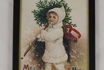 """Vintage Christmas / Vintage Christmas related items such as Christmas Cards etc. Like vintage crafts? Why not create custom gifts with our """"Print Your Own"""" range? http://www.inkfactory.com/photo-gifts/"""
