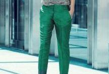 Calças / Cortes, cores e caimentos que fazem a diferença em cada estilo.