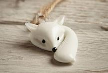 PolymerClay_woodland creatures