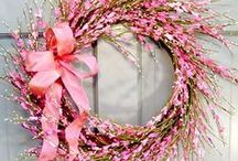 WREATH - Spring, Easter, Wedding... / ...Shabby, Valentine / by Sabine Kurtz `La Couronne´