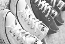 Converse & Canvas Shoes / Walking the walk..