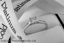 Diamonds - The Timeless Love Story / Diamonds. The quintessential jewel for engagement and wedding rings. Gold and Platinum Studio are renowned for making exquisite pieces for the bride and groom to be. This board comprises many our own designs but also others we admire. If you live in Bath or surrounds, come and see us for your own beautiful, unique handmade piece.