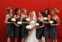 Bridesmaids / Photos of bridesmaids and bridesmaids fashion.