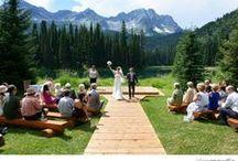 Mountain Weddings / Amazing mountain weddings.