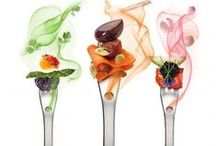 FOOD ART / Colour - Shape - Balance - Desire and Passion
