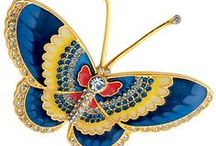 BUTTERFLIES JEWELRY / Please, not more than 6 pins per day!
