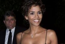 Halle Berry / Halle Berry is an American actress, former fashion model and former beauty queen. One of the highest-paid actresses in Hollywood, she is also a Revlon spokeswoman. Halle Maria Berry was born on August 14, 1966, in Cleveland