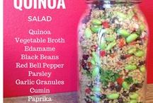Quinoa, Rice, and Grains / Meals and recipes made with quinoa, rice, and various grains.