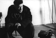 Josef Sudek / Josef Sudek (17. března 1896 Kolín – 15. září 1976 Praha) byl významný český fotograf pražských motivů, ateliérových aranžmá, zátiší, reportáže, krajiny i reklamy. Začal fotografovat ve svých 17 letech. (cs.wikipedia.org)