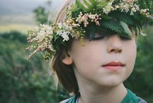 In the Round / Wreaths, Flower Crowns and the Like