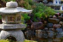 Japanese garden ideas / For the little backyard that I now live with.