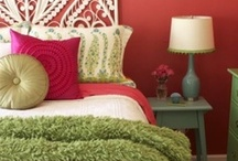 Teen Bedroom / Decorating a teen's bedroom can be tricky.  Why not ask for their help?  It's a great way for your teen to express themselves and you know that they'll truly enjoy their space once it's complete.
