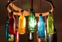 Plastic and glass recycling - Recicle Plastico e vidro