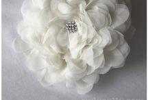 Kumaş&Kağıt Çiçek/Fabric&Paper Flowers