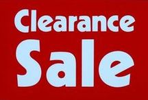 EBAY CLEARANCE SALE / STUFF ON EBAY. Great deals on items being cleared out of our eBay stores. They're on sale, available for a limited time, often with FREE U.S. & Canadian shipping!  These sale items cover a variety of subject matter from CDs & books to pjs & t-shirts. Don't hesitate. Once they are gone, they are gone. Don't forget to visit our stores where there are more items on sale.  Pinners please limit your pins to five per day. Find my eBay store: http://stores.ebay.com/Treasures-By-Brenda.