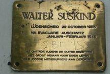 Het leven van Walter Süskind / In dit bord ga ik vertellen over het leven van Walter Süskind aan de hand van foto's