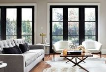 living rooms + we like / That look great. That are thoughtful. We want to sit in or ponder.