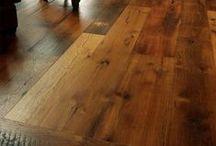 flooring + we like / wood - tile - concrete - dirt.