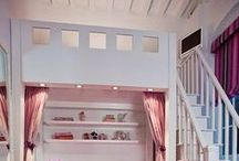 rooms for kids + we like / Where they live and play
