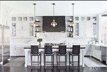 kitchens + we like / Who doesn't love a great kitchen with good design?