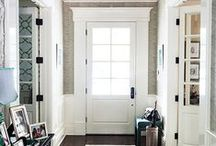 front doors + we like / Front doors and entries from inside and out. First impressions. Curb appeal. Personality. Functionality. Style.
