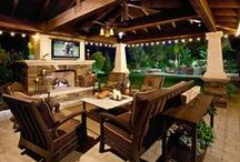 outdoor living + we like / porches - patios - decks - hardscapes