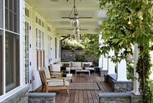 porches + we like / Porches are so welcoming and wonderful. A great place to gather, relax or entertain.