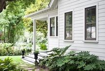 siding + we like / There are lots of options and sometimes it is nice to have one siding for a whole house, while on other occasions it is nice to combine options.