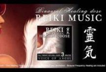 REIKI MUSIC / REIKI MUSIC, MUSICAS PARA REIKI COM MARCAÇÕES A CADA 3 OU 5 MINUTOS.