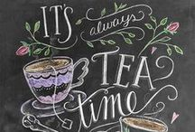 Tea is Happiness in a Cup / by Jessica Gamboa