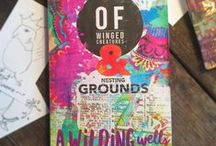 Of Winged Creatures & Nesting Grounds / new novel by A. Wilding Wells coming September 2016