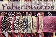 Friendship bracelet, Pulseras Boho de hilo hand made con nudos de macramé. / Aquí podréis ver pulseras patuconicos y muchas otras hechas también con nudos de macramé con mil diseños y colores. las Pulseras de hilo Patuconicos están hechas a mano en España con nudos de macramé. https://twitter.com/patuconicos/media
