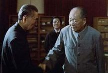Rare Pictures of Chairman Mao 毛泽东罕见照片 / 由人民文学出版社推出的纪实图文新书《毛泽东正值神州有事时》,近日在北京图书大厦举办新书发布暨签售会。该书的二位作者、毛泽东专职摄影记者钱嗣杰与红墙女作家顾保孜现身活动现场,与读者对话交流。