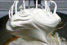 Creams, frostings