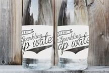 Water Packaging / Drink up the creativity from these cool water bottle designs.