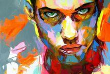 Retratos / Retratos pintados
