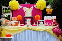 Parties styled by Tickled Pink / Party styling and decorations by Tickled Pink Celebrations / by Tickled Pink Celebrations