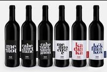 Wine Packaging / Cheers to these wine label and wine bottle packaging designs. Often given as a gift, wine bottles require a sort of individualism to stand out among competitors while still looking classy at home.